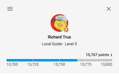 richard-trus-google-local-guides-toronto-moderator